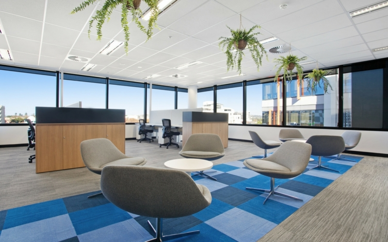 Commercial Office Fitout Newcastle - Insight Building Services